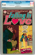 Silver Age (1956-1969):Romance, Falling in Love #110 Savannah pedigree (DC, 1969) CGC NM 9.4Off-white pages....