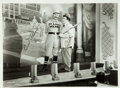 "Autographs:Photos, Circa 1950 Bud Abbott & Lou Costello Signed ""Who's onFirst?"" Photograph...."