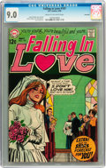 Bronze Age (1970-1979):Romance, Falling in Love #107 Savannah pedigree (DC, 1969) CGC VF/NM 9.0Cream to off-white pages....