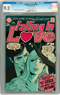 Bronze Age (1970-1979):Romance, Falling in Love #106 Savannah pedigree (DC, 1969) CGC NM- 9.2 Creamto off-white pages....