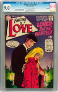 Bronze Age (1970-1979):Romance, Falling in Love #105 Savannah pedigree (DC, 1969) CGC VF/NM 9.0Cream to off-white pages....
