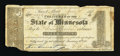 Obsoletes By State:Minnesota, St. Paul, MN- State of Minnesota $1 Jan. 29, 1858 Hewitt D1-2. ...