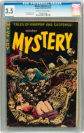 Golden Age (1938-1955):Horror, Mister Mystery #7 (Aragon, 1952) CGC VG- 3.5 Off-white to whitepages....