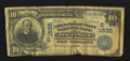 National Bank Notes:Virginia, Winchester, VA - $10 1902 Plain Back Fr. 625 The Shenandoah ValleyNB Ch. # (S)1635. ...