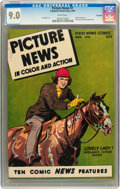 Golden Age (1938-1955):Non-Fiction, Picture News #7 Big Apple pedigree (Lafayette Street Corp., 1946)CGC VF/NM 9.0 White pages....