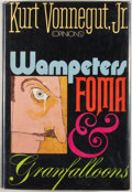 Books:First Editions, Kurt Vonnegut Jr. Wampeters, Foma & Granfalloons. [NewYork]: Delacorte Press/Seymour Lawrence, [1974]. First editio...