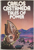 Books:First Editions, Carlos Castaneda. Tales of Power. New York: Simon andSchuster, [1974]. First edition, first printing. Octavo. Publi...