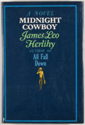 Books:First Editions, James Leo Herlihy. Midnight Cowboy. New York: Simon andSchuster, [1965]. First edition, first printing. Octavo. Pub...