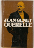 Books:First Editions, Jean Genet. Querelle. New York: Grove Press, [1974]. FirstAmerican edition, first printing. Review copy with slip l...
