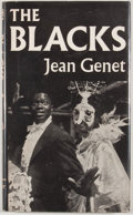 Books:First Editions, Jean Genet. The Blacks: A Clown Show. London: Faber andFaber, [1960]. First edition. Octavo. Publisher's bindin...