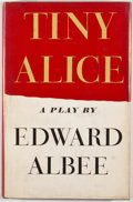 Books:First Editions, Edward Albee. Tiny Alice. New York: Atheneum, 1956. Lateredition. Octavo. Publisher's binding and dust jacket. Ligh...