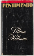 Books:First Editions, Lillian Hellman. Pentimento. Boston: Little, Brown, [1973].Book club edition with blindstamp. Octavo. Publisher's b...