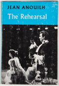 Books:First Editions, Jean Anouilh. The Rehearsal. London: Methuen, [1961]. Firstedition. Octavo. Publisher's binding and dust jacket...