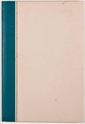 Books:First Editions, Truman Capote. A Christmas Memory. New York: Random House,[1956]. First edition. Octavo. Publisher's binding and sl...
