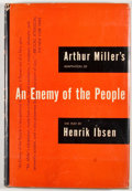 Books:First Editions, Arthur Miller [adaptation]. Henrik Ibsen. An Enemy of thePeople. New York: Viking Press, 1951. First edition, first...