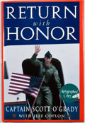 Books:Signed Editions, Scott O'Grady. SIGNED. Return With Honor. New York: Doubleday, [1995]. Sixth printing. Signed by O'Grady on half-t...