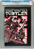 Modern Age (1980-Present):Alternative/Underground, Teenage Mutant Ninja Turtles #1 First Printing (Mirage Studios,1984) CGC NM 9.4 Off-white to white pages....