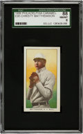 Baseball Cards:Singles (Pre-1930), 1909 E95 Philadelphia Caramel Christy Mathewson SGC 88 NM/MT 8 -The Finest Example Known!...
