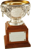 Hockey Collectibles:Others, 1980 Art Ross Trophy Presented to Marcel Dionne....