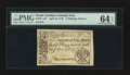 Colonial Notes:South Carolina, South Carolina April 10, 1778 2s 6d PMG Choice Uncirculated 64EPQ.. ...