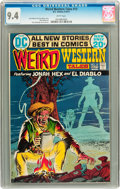 Bronze Age (1970-1979):Western, Weird Western Tales #13 (DC, 1972) CGC NM 9.4 White pages....