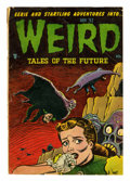Golden Age (1938-1955):Horror, Weird Tales of the Future #4 (Aragon, 1952) Condition: GD/VG....