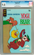 Bronze Age (1970-1979):Cartoon Character, Yogi Bear #42 File Copy (Gold Key, 1970) CGC NM/MT 9.8 Off-white towhite pages....