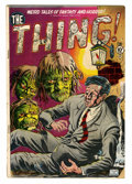 Golden Age (1938-1955):Horror, The Thing! #1 (Charlton, 1952) Condition: GD....