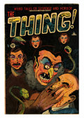 Golden Age (1938-1955):Horror, The Thing! #7 (Charlton, 1953) Condition: GD/VG....
