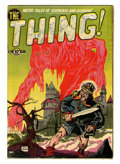 Golden Age (1938-1955):Horror, The Thing! #2 (Charlton, 1952) Condition: VG+....
