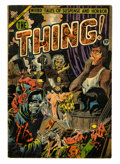Golden Age (1938-1955):Horror, The Thing! #11 (Charlton, 1953) Condition: VG+....