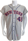"Baseball Collectibles:Uniforms, 1970 Frank ""Tug"" McGraw Game Worn New York Mets Jersey...."
