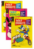 Bronze Age (1970-1979):Cartoon Character, Walt Disney's Comics and Stories File Copy Group (Gold Key, 1970s)Condition: Average NM.... (Total: 12 Comic Books)