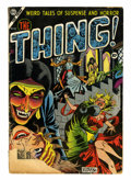 Golden Age (1938-1955):Horror, The Thing! #12 (Charlton, 1954) Condition: FR....
