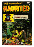 Golden Age (1938-1955):Horror, This Magazine Is Haunted #1 (Fawcett, 1951) Condition: VG/FN....