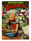 Golden Age (1938-1955):Horror, Tormented #1 (Sterling, 1954) Condition: VG/FN....