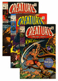 Bronze Age (1970-1979):Horror, Creatures on the Loose Group (Marvel, 1971-75) Condition: AverageVF+.... (Total: 27 Comic Books)