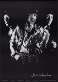 "Movie Posters:Rock and Roll, Jimi Hendrix (Independent, Early 1970s). Personality Poster (24"" X34""). Rock and Roll.. ..."