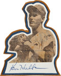 Baseball Collectibles:Others, Ken Hubbs Signed Cut Signature....