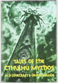 Books:First Editions, H. P. Lovecraft. Tales of the Cthulhu Mythos. [Sauk City]:Arkham House, [1990]. First edition. Octavo. Publisher's ...