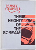 Books:First Editions, Ramsey Campbell. The Height of the Scream. Sauk City: ArkhamHouse, 1976. First edition. Octavo. Publisher's binding...