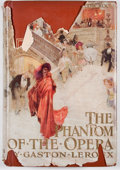 Books:Fiction, Gaston Leroux. The Phantom of the Opera. New York:Bobbs-Merrill, [1911]. Later impression. Octavo. Publisher's ...
