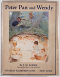 Books:Children's Books, Mabel Lucie Attwell [illustrator]. J. M. Barrie. Peter Pan andWendy. New York: Charles Scribner's Sons, 1927. Later...