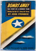 Books:First Editions, John Steinbeck. Bombs Away. New York: Viking Press, 1942.First edition, first printing. Octavo. Publisher's binding...