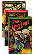 Golden Age (1938-1955):Horror, Dark Mysteries #22-24 Group (Master Publications, 1955).... (Total:3 Comic Books)