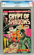 Bronze Age (1970-1979):Horror, Crypt of Shadows #16 (Marvel, 1975) CGC NM 9.4 White pages....