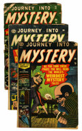 Golden Age (1938-1955):Horror, Journey Into Mystery #4, 6, and 12 Group (Marvel, 1952-53)....(Total: 3 Comic Books)
