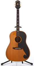 Musical Instruments:Acoustic Guitars, 1960 Epiphone Texan Natural Acoustic Guitar #A-4992...