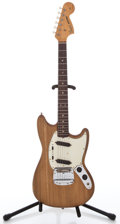 Musical Instruments:Electric Guitars, 1966 Fender Mustang Refinished Solid Body Electric Guitar#122396...
