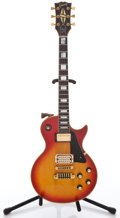 Musical Instruments:Electric Guitars, 1979 Gibson Les Paul Custom CherryBurst Solid Body Electric Guitar#70929652...